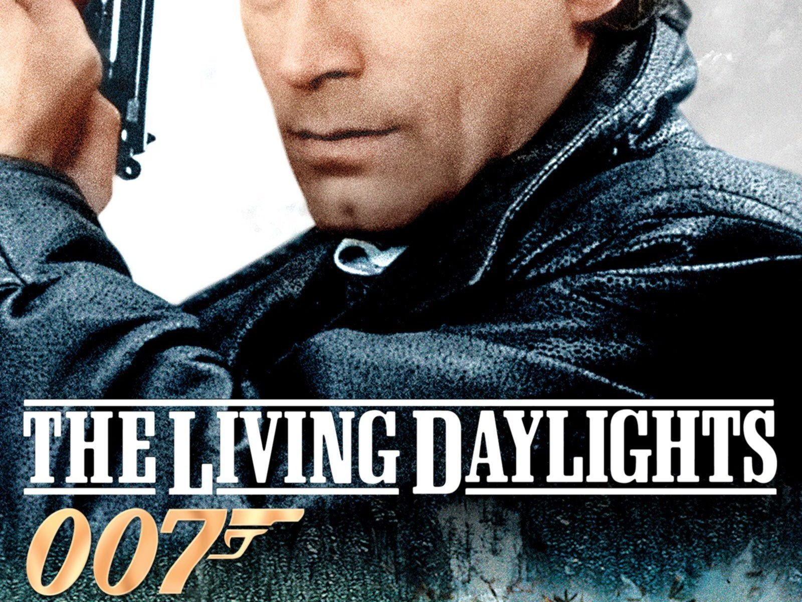"""Poster for the movie """"The Living Daylights"""""""