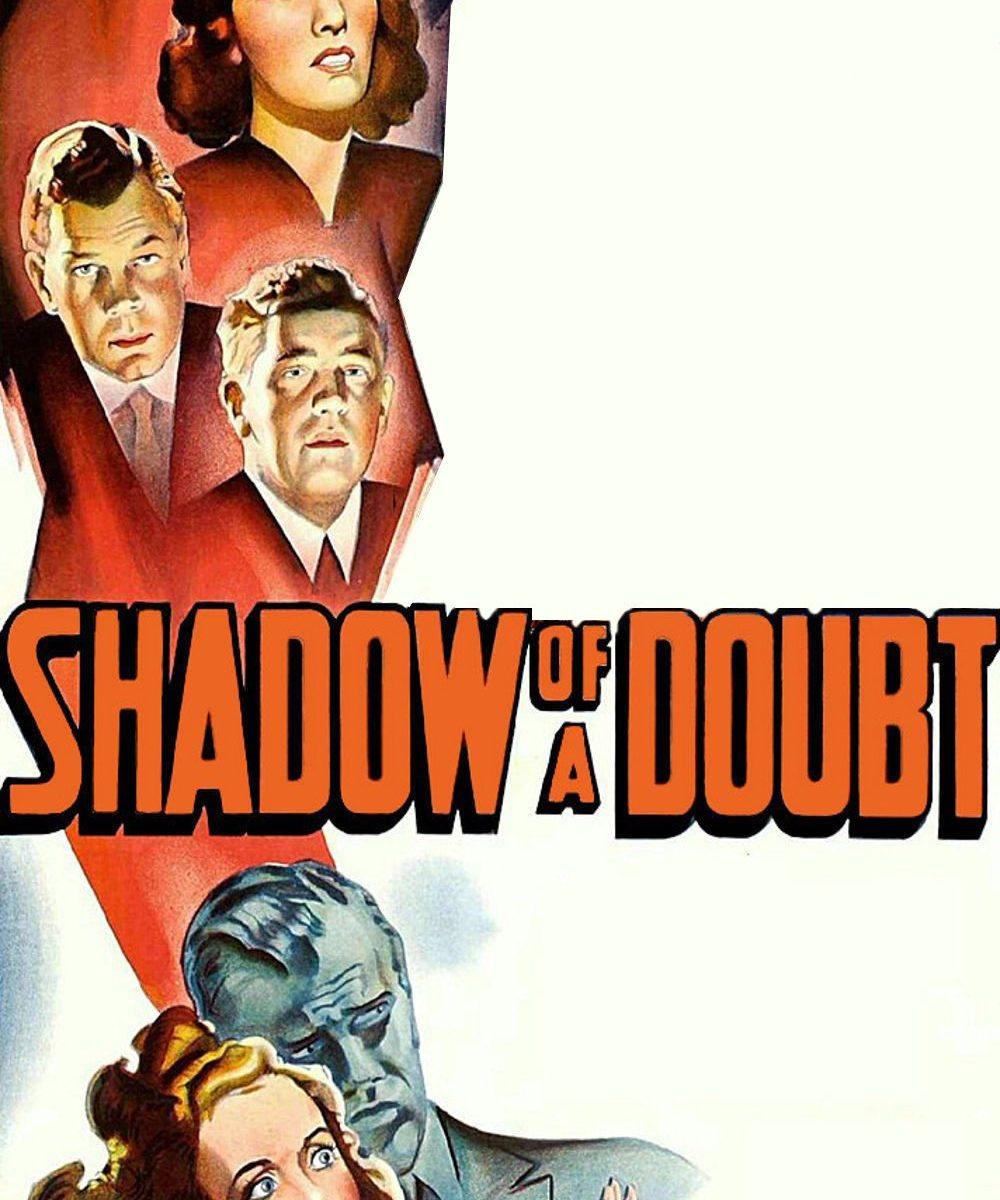 "Poster for the movie ""Shadow of a Doubt"""