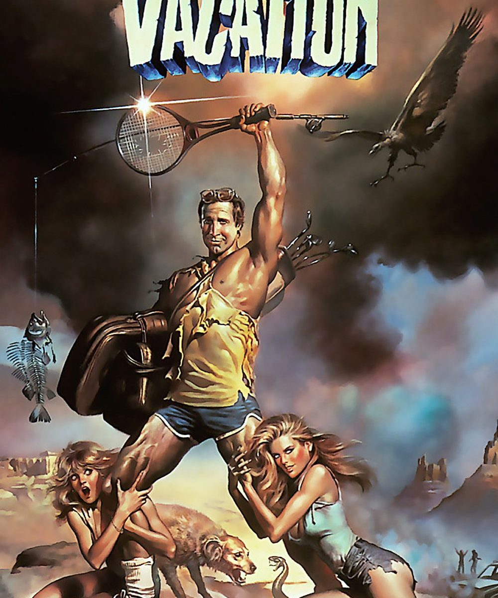 "Poster for the movie ""National Lampoon's Vacation"""