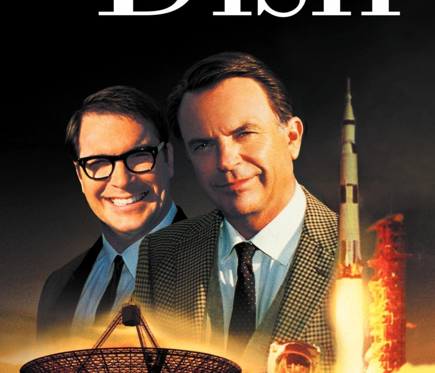 "Poster for the movie ""The Dish"""