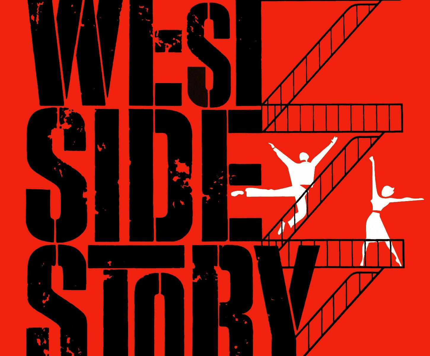 "Poster for the movie ""West Side Story"""