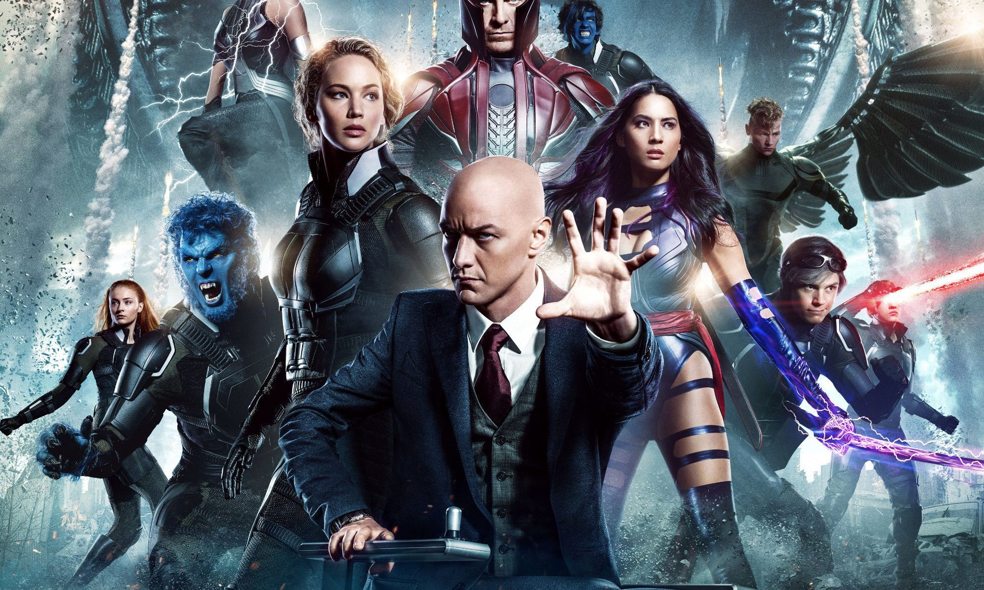 "Poster for the movie ""X-Men: Apocalypse"""