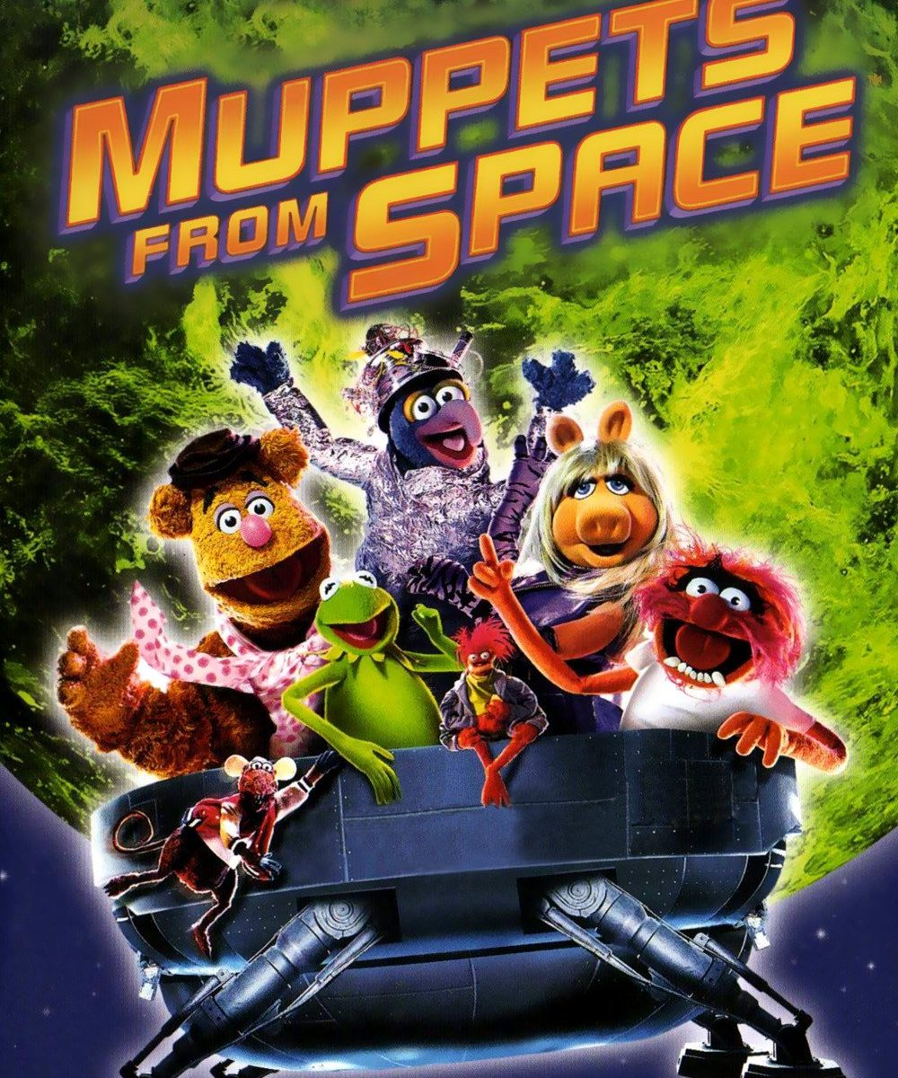 "Poster for the movie ""Muppets from Space"""