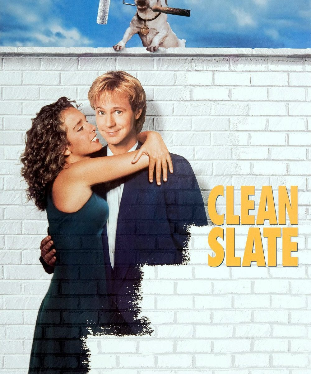 "Poster for the movie ""Clean Slate"""