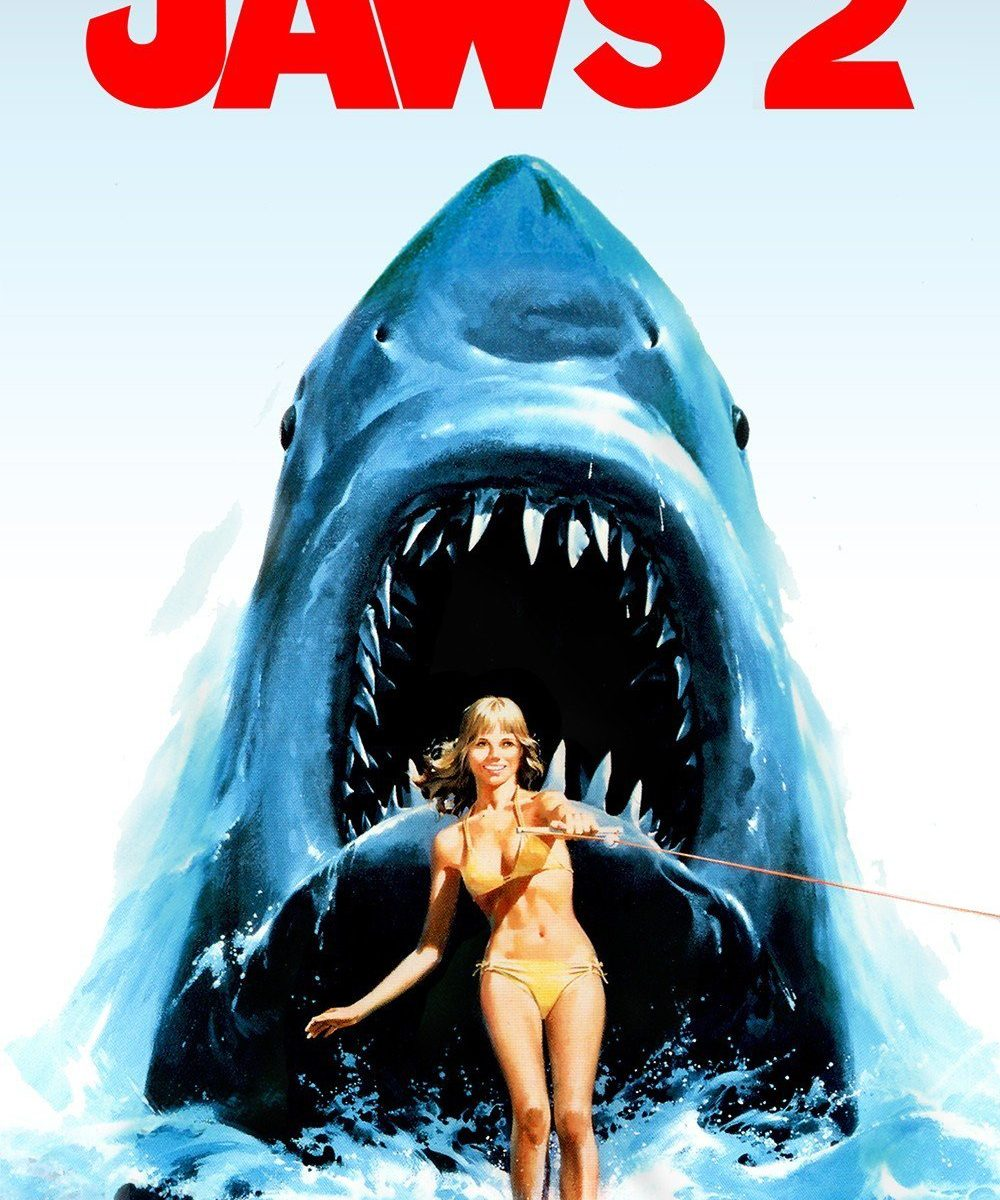 """Poster for the movie """"Jaws 2"""""""